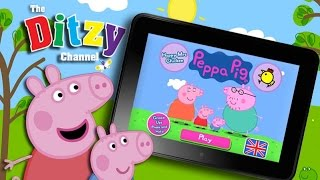 PEPPA PIG HAPPY MRS CHICKEN GAME Kindle app review & gameplay by DTSE - The Ditzy Channel