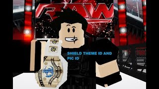 ROBLOX SHIELD ID AND PIC ID AND SHIELD MEMBERS THEME AND PIC !!!!!!!!! ROBLOX WWE
