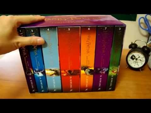 Harry Potter Box Set Children's Paperback UK New Jacket Bloomsbury