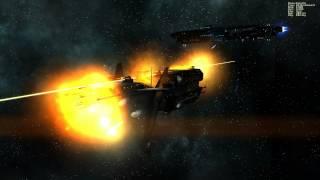 Starshatter the battle of Cheechee station