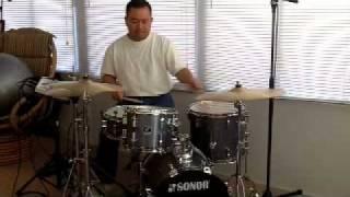 Matt Eder - Sonor Safari drum kit demonstration
