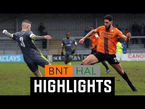 Barnet Halesowen Goals And Highlights