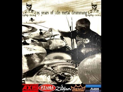25TH YR ANNIVERSARY DRUM VIDEO SERIES PT.2-Behind the scenes~AXIS Percussion artist Corey Chernesky