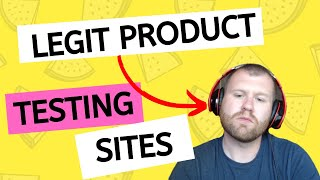8 LEGIT PRODUCT TESTING SITES