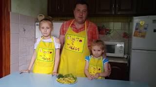 Вкусно с нами.Омлет с цветной капустой./Tasty with us. Omelet with cauliflower.