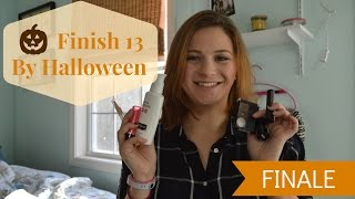 Finish 13 by Halloween Finale | Project Pan
