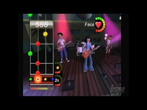 PopStar Guitar Nintendo Wii Gameplay - Teeny Bopper Song