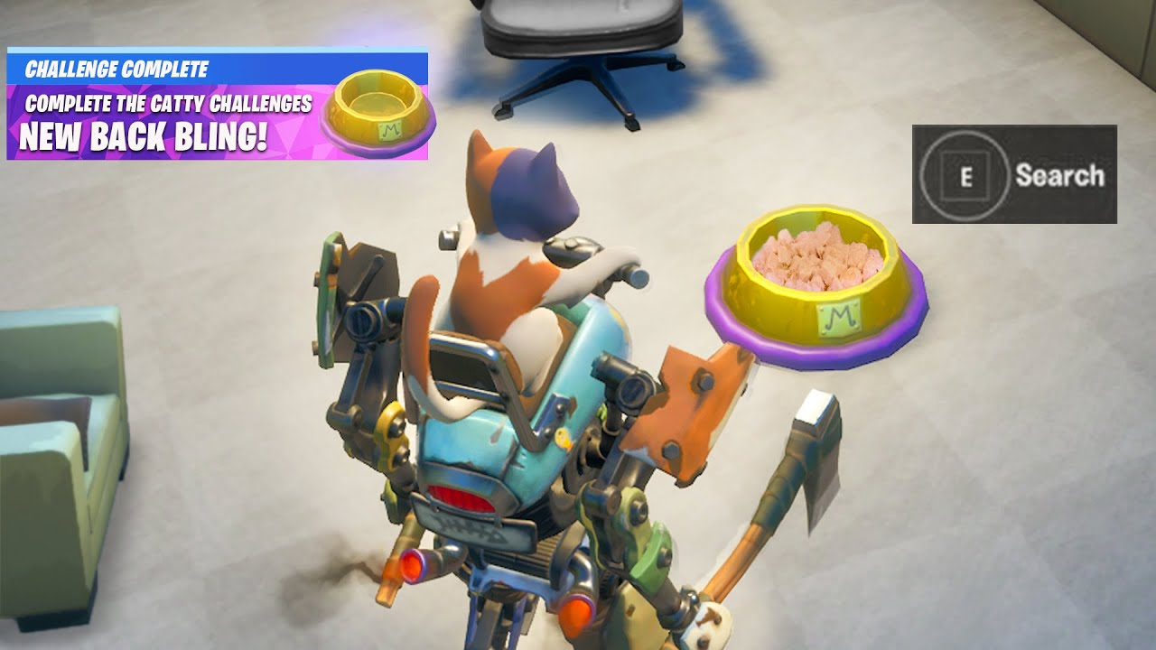 Fortnite Boss Kit Secret Reward at the Catty Corner