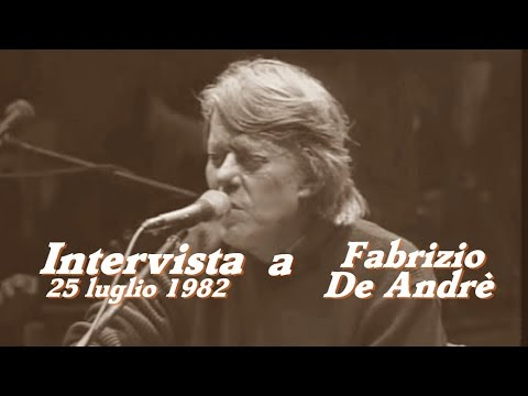 Interview with Fabrizio De Andrè - The story of the Genoese singer-songwriter