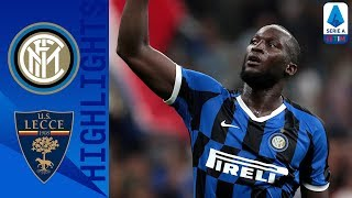 Inter 4-0 Lecce | Lukaku scores on debut to send Inter top | Serie A