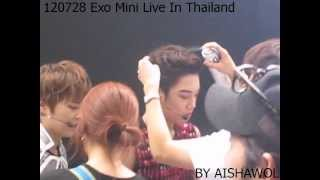 120728 Exo Mini live Behind Stage 2