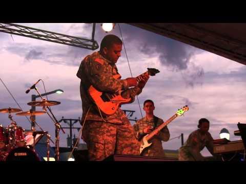 "Army Band Member (Guitar Player 42R) performs ""Eruption"" by Eddie Van Halen"