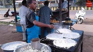 Instant Rava dosa    Crispy Sooji dosa or Semolina Dosa      Apple Street Food