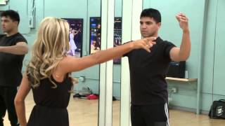 Victor And Lindsay's First Rehearsal - Dancing With The Stars
