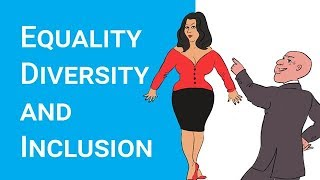 Equality, Diversity and Inclusion - NEW VIDEO https://youtu.be/LqP6iU3g2eE thumbnail