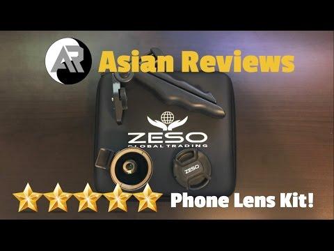 BEST Phone Lens Kit! - Zeso Camera Lens Kit Review