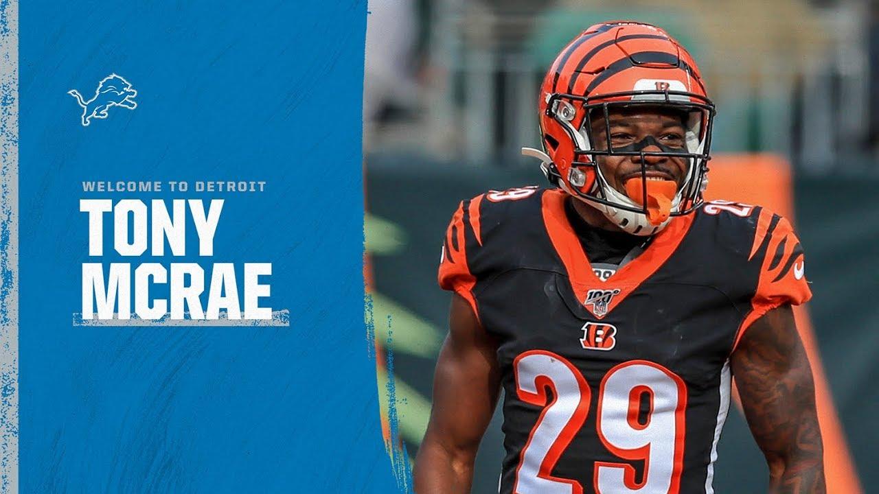 Tony McRae Highlights | Detroit Lions