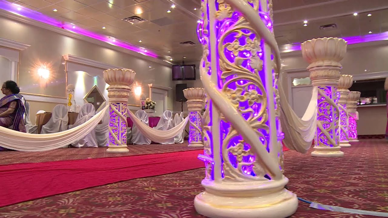 Reception Hall Decorations.  Celebrations Banquet Hall Decoration YouTube
