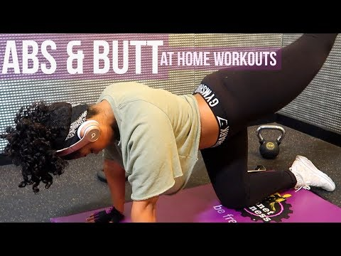 My Current At-Home Abs & Butt Routine