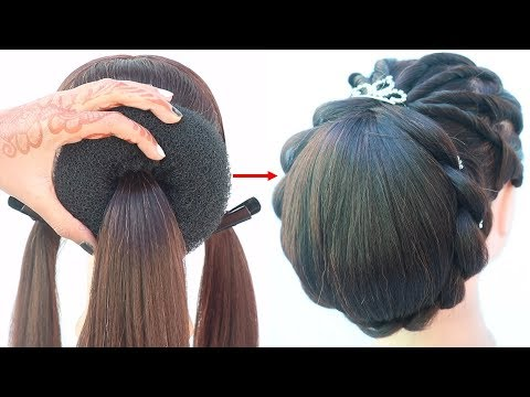 latest-hairstyle-for-wedding-and-party-||-prom-hairstyle-||-updo-for-short-hair-||-hairstyle