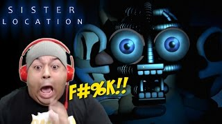 IT'S A F#%KING BABY!! [FNAF: SISTER LOCATION] [GAMEPLAY!] [NIGHTS 1 & 2]
