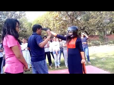 Wpa self Defence in Motilal Nehru College