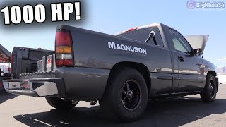 1000hp Supercharged Pickup Rips! (First Ever LS Magnuson 2650)