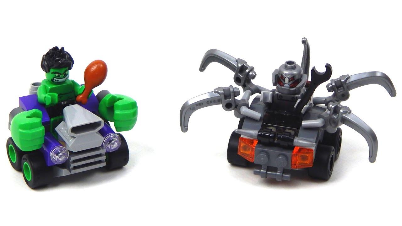 Lego Hulk Speed Build