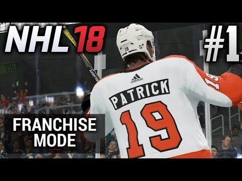 NHL 18 Franchise Mode | Philadelphia Flyers | EP1 | HERE WE GO! (S1G1)