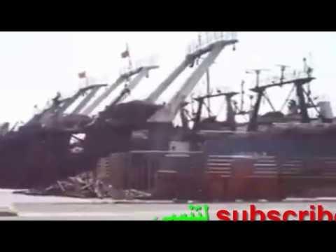 شاهد سفن كتيرة في مناء اكادير HD 2016