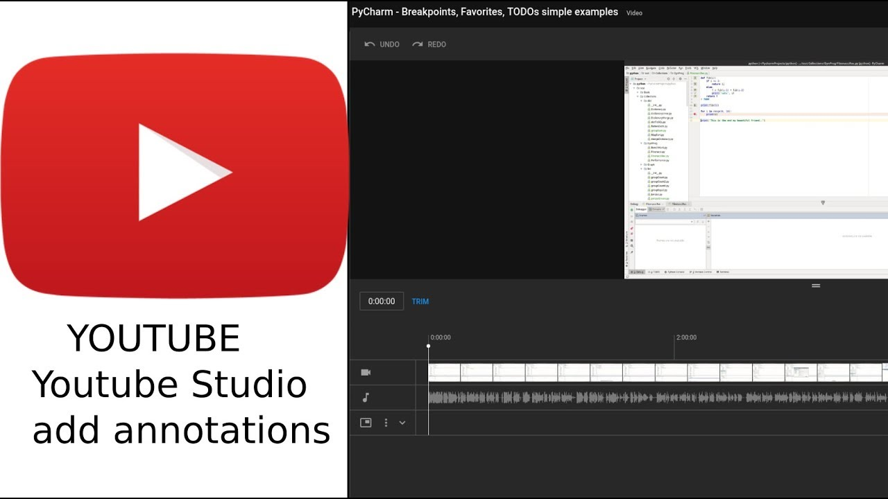 How To Add Annotations In New Youtube Studio Youtube