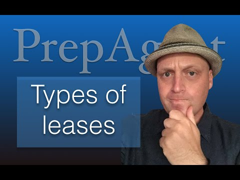 Types of leases - Real Estate Exam
