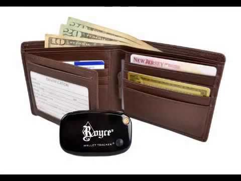 Royce Tracker Wallets