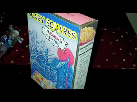 5Th Grade Cereal Box Assignment - Youtube