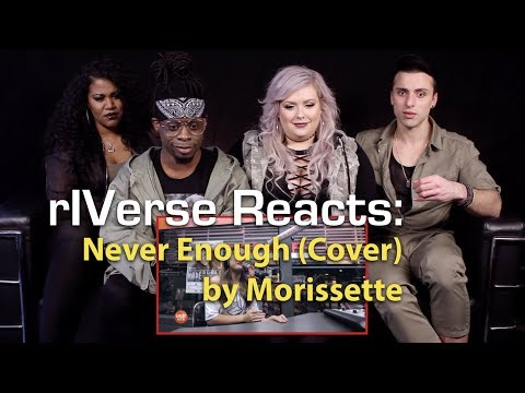 rIVerse Reacts: Never Enough Cover by Morissette -  on Wish 1075 Bus Reaction