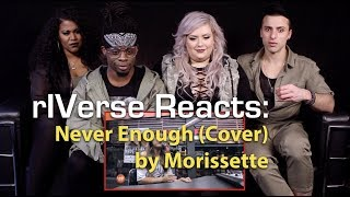 rIVerse Reacts: Never Enough (Cover) by Morissette - LIVE (on Wish 107.5 Bus) Reaction