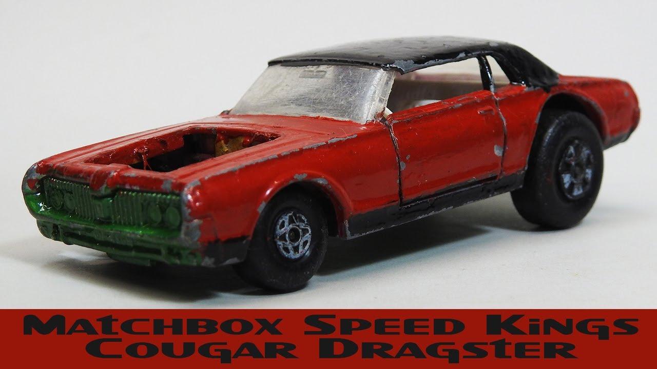 Matchbox Speed Kings Cougar Dragster Restoration