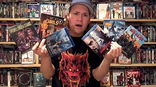 My Blu-ray Collection Update 8/8/15 : Blu ray and Dvd Movie Reviews