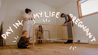 Planning the Nursery for Baby #3!! UNEDITED VLOG // Day in the Life of a Pregnant Mom