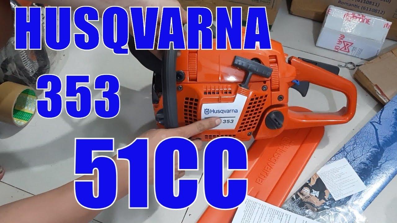 Máy cưa xích husqvarna 353 – chất như quả đất – 51cc – Lh 0974644973 zalo để có giá tốt