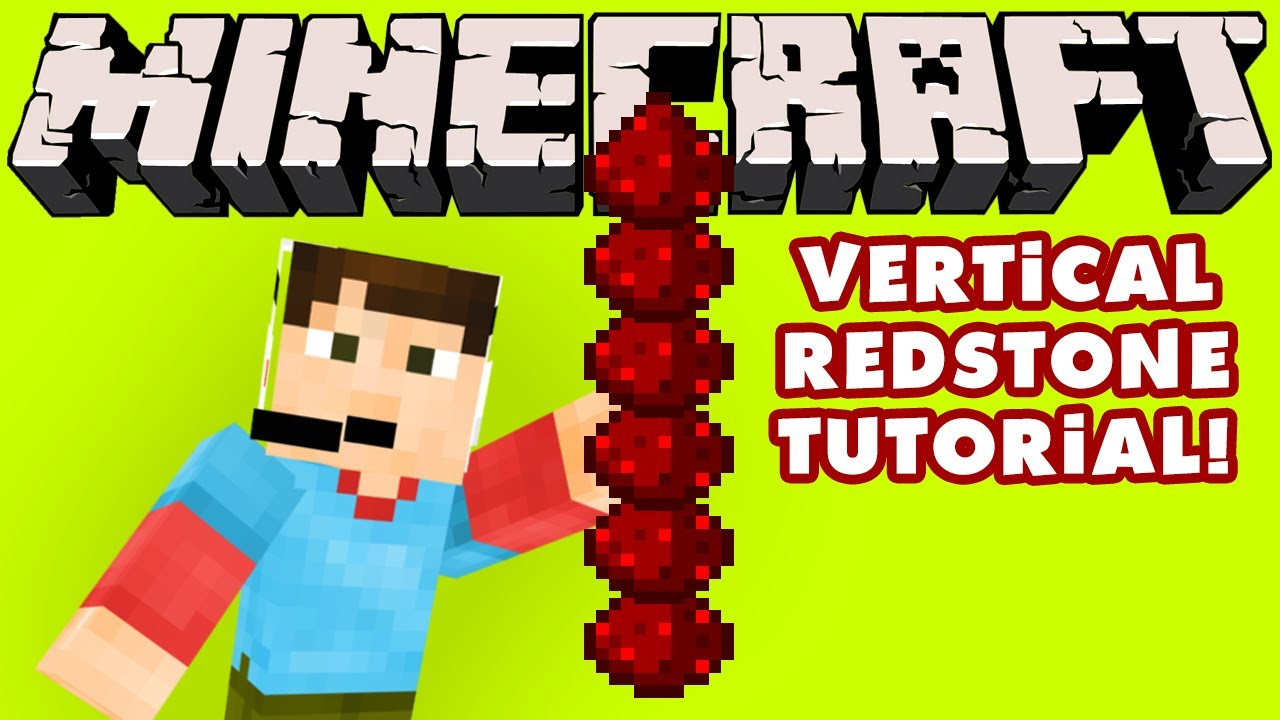 Minecraft Vertical Redstone Tutorial Youtube Wiring For Dummies