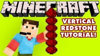 Minecraft - Vertical Redstone Tutorial!