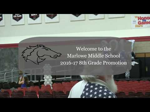 Marlowe Middle School 8th Grade Promotion