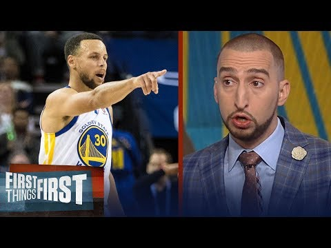 Armor-less Warriors: Nick Wright on how Portland and Houston can dethrone GSW   FIRST THINGS FIRST
