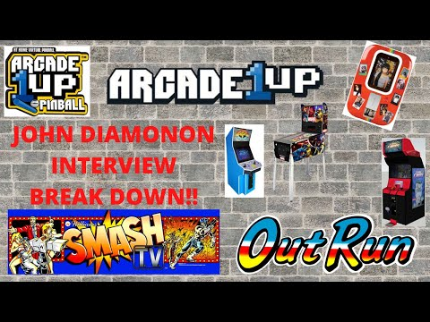 Arcade1up - John D Interview - Out Run, Street Fighter II, Pinball, Time Crisis and more announced! from PsykoGamer