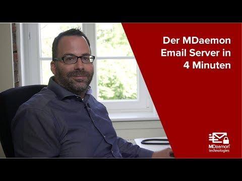 Der MDaemon Email Server in 4 Minuten