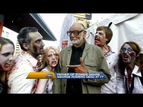 Remembering Hollywood legends George Romero & Martin Landau