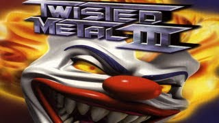 Classic PS1 Game Twisted Metal III on PS3 in HD 1080p