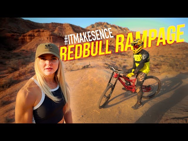 Brooke Ence - Riding the Redbull Rampage Course