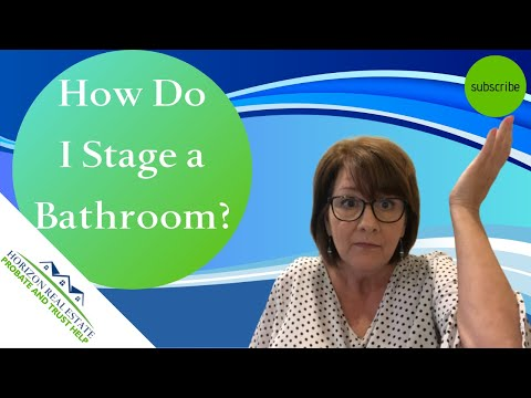 Staging A Bathroom   Bathroom Staging Before And After